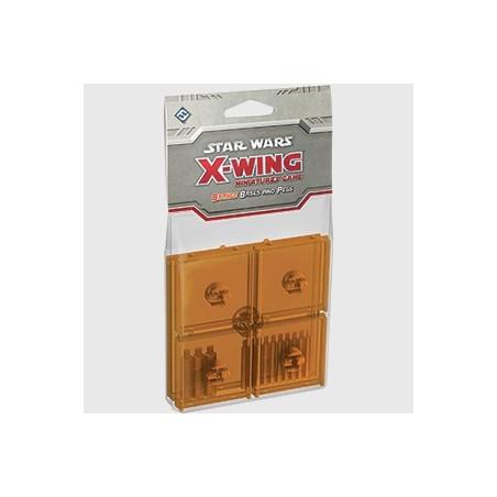 X-Wing: pomarańczowe podstawki i i kolumny