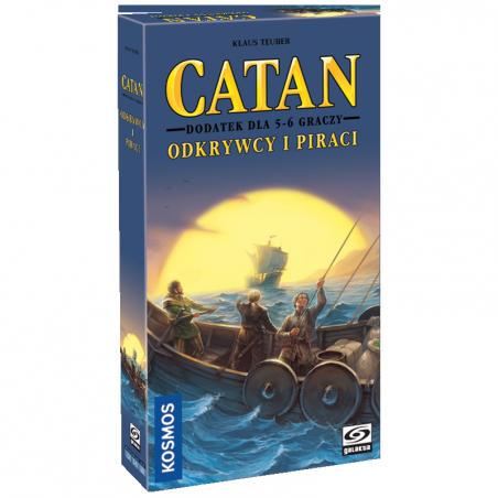 Catan: Odkrywcy i Piraci – Dodatek dla 5-6 graczy
