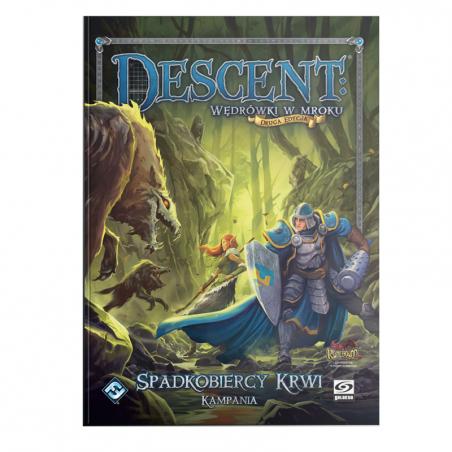 Descent: Spadkobiercy Krwi - Księga kampanii