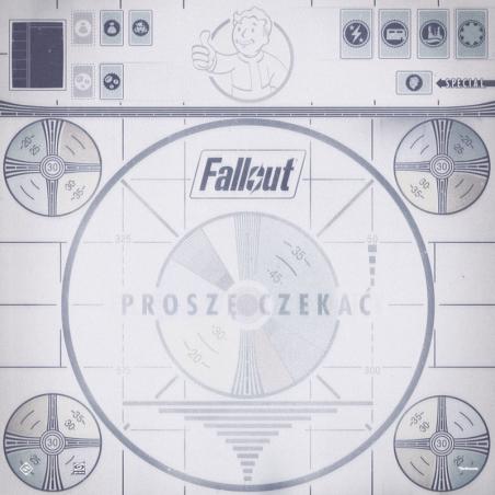 Fallout gra planszowa: Proszę czekać - Mata do gry