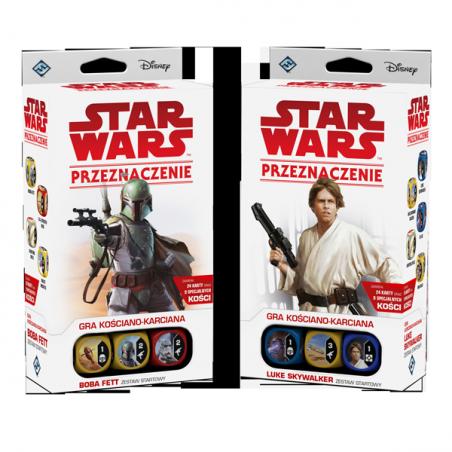 Zestaw  Boba Fett + Luke Skywalker